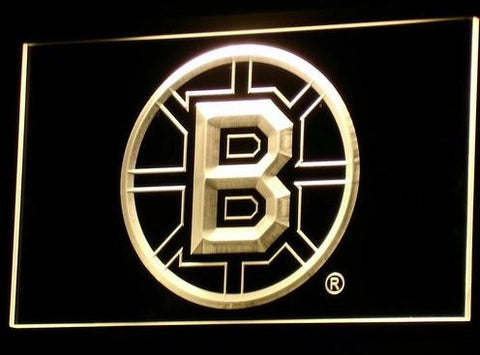 Boston Bruins Neon Sign (Bar. Light. LED)