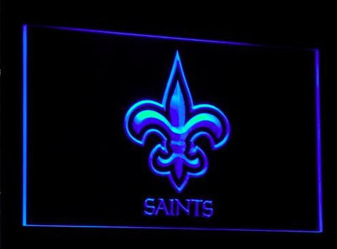 New Orleans Saints Neon Sign (Club. Bar. Light. B050-y. LED)