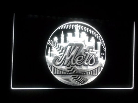 New York Mets Neon Sign (NY. Light. MLB. Baseball. LED)