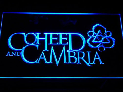 Coheed Cambria Neon Sign (Light. LED. Man Cave. C142-B)