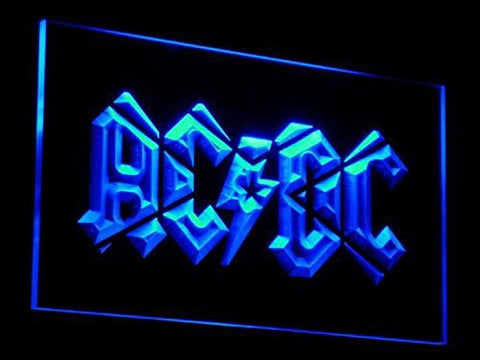 AC/DC Neon Sign (Light. Acdc. Band. Music. Bar. Club. LED)