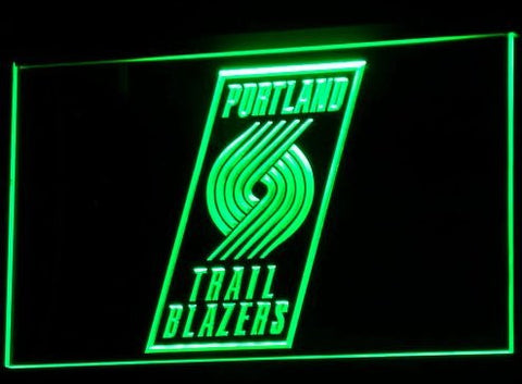 Portland Trail Blazers Neon Sign (B024-r. Light. Nr. Bar. LED)