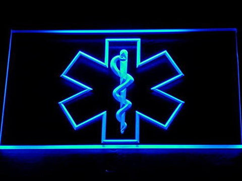 EMS Paramedic Medical Services Neon Sign (Light. LED. Man Cave. 714-B)