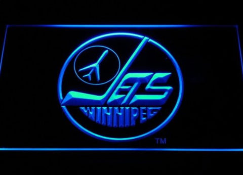 Winnipeg OLD Jets Neon Sign (Light. LED)