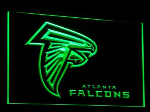 Atlanta Falcons Neon Sign (Football. Bar. Light. B065-r. LED)