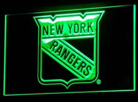 New York Rangers Neon Sign (Bar. Club. Light. LED)