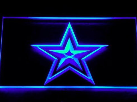 Dallas Cowboys Neon Sign (127-b. Light. Logo. Bar. Pub. Beer. LED)