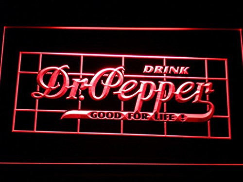 Dr Pepper Drink Good for Life Neon Sign (Light. LED. Man Cave. A217 R)