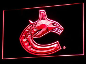 Vancouver Canucks Neon Sign (Bar. Light. B104-b. LED)