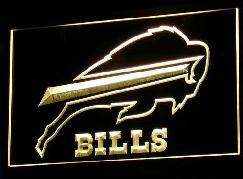 Buffalo Bills Neon Sign (Light. Pub. Bar. LED)
