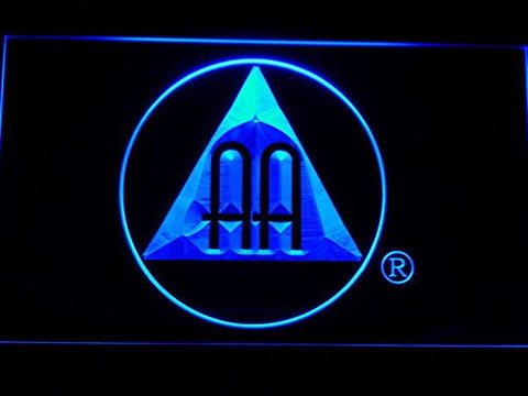 Alcoholics Anonymous Neon Sign (Light. AA. LED. Man Cave. A221-B)
