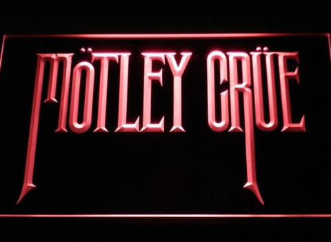 Motley Crue Neon Sign (Light. Band. Rock. Bar. LED)