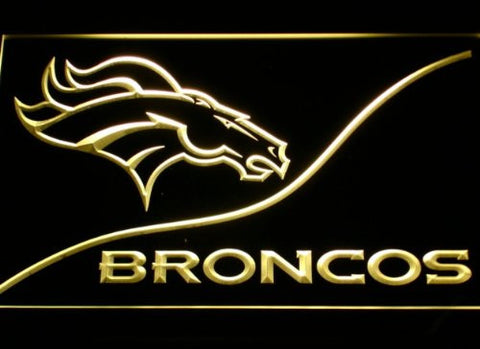 Denver Broncos Neon Sign (LED. Light. B502-b)
