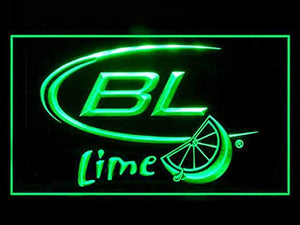Bud Light Lime Neon Sign (Beer. Bar. LED. Light)