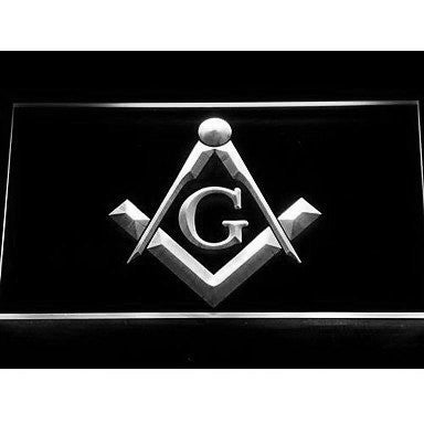 Masonic Mason Freemason Emblem Neon Sign (Light. LED)