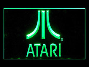 Atari Neon Sign (Game. PC. TV. Bar. LED. Light)