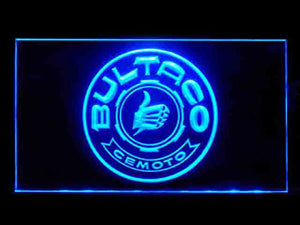 Bultaco Cemoto Neon Sign (Parts. Service. Repair. LED. Light)
