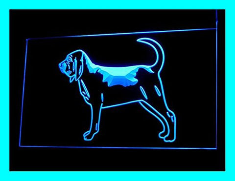 C B Signs Bloodhound Dog LED Sign Neon Light Sign Display