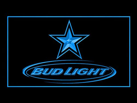 Bud Light Dallas Cowboys Neon Sign (LED. Light)