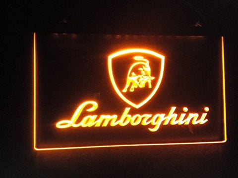 Lamborghini Logo Neon Sign (Light. LED)