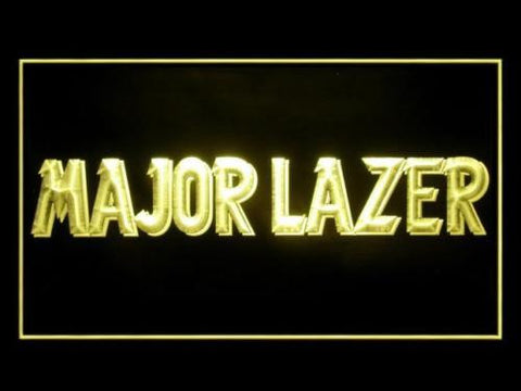 Major Lazer Neon Sign (P643Y. Hub. Bar. Advertising. LED. Light)