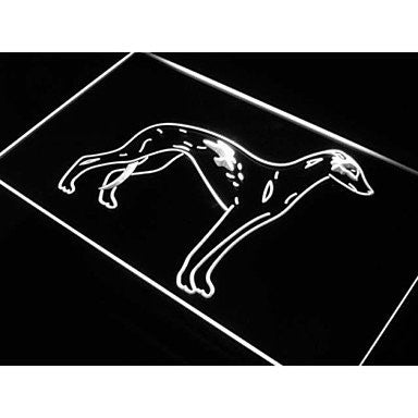 BuW Greyhound Rescue Dog Pet Shop Neon Light Sign. led flood lights princess ...