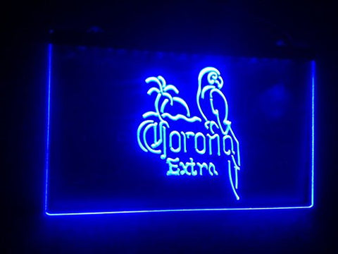 Corona Extra Parrot Neon Sign (Light. LED)