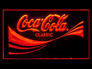 Coca Cola Coke Classic Soda Led Light Sign