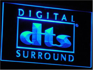 DTS Digital Surround Sound Home Light Sign Neon by WorldLEDHouse
