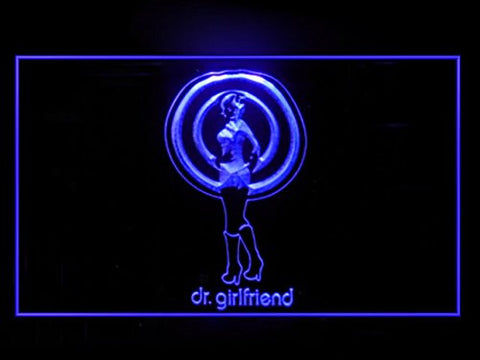 The Venture Bros Dr Girlfriend Hub Bar Advertising LED Light Sign P904P