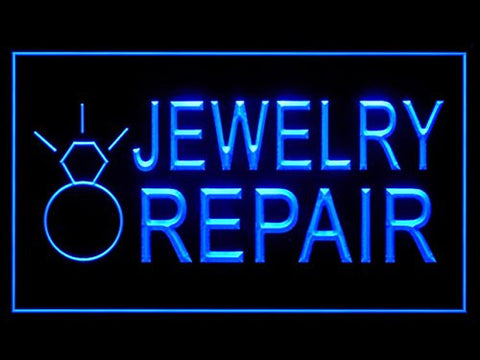 Jewelry Repair Services LED Sign Neon Light Display