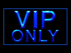 C B Signs VIP Only LED Sign Neon Light Sign Display