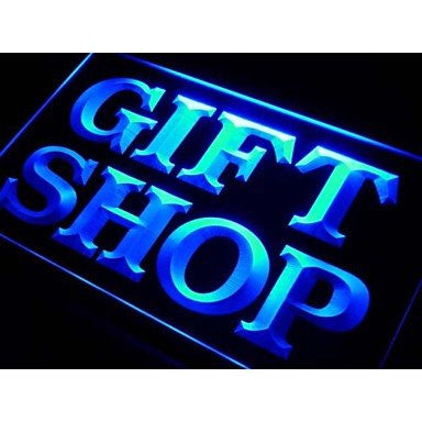 BuW Gift Shop Display Neon Light Sign. led flood lights princess night light ...
