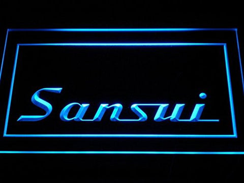 Sansui Home Theater Audio System LED Neon Light Sign Man Cave K153-B