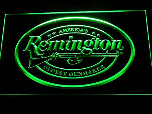 Remington Neon Sign (Man Cave. D233-G. Firearms. Hunting. Gun. LED)
