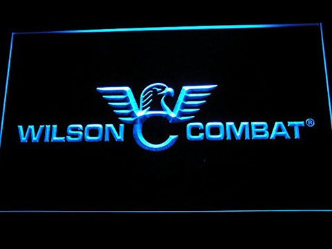 Wilson Combat Neon Sign (Light. Man Cave. D242-B. Firearms. Gun. LED)