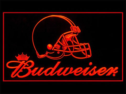 Cleveland Browns Budweiser Neon Sign (LED. Light)