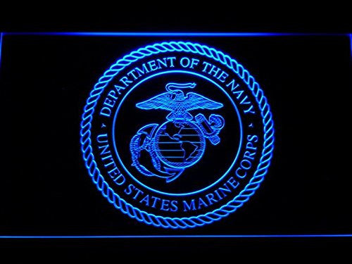 US Marine Corp Military Neon Sign (LED. Light. Man Cave. F099-B)