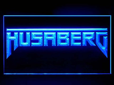 Husaberg Motorcycle Bike Repair Service Led Light Sign