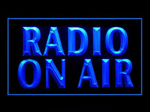 C B Signs Radio On Air LED Sign Neon Light Sign Display