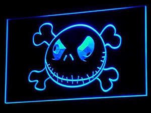 Nightmare Before Christmas Jack Neon Sign (LED. Light. Man Cave. G056-B)