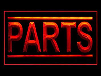 Auto Parts Car Shop Models Display Led Light Sign