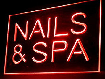 Nails & Spa Neon Sign (LED. Light)