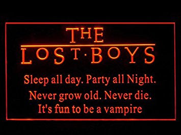 The Lost Boys Bar Led Light Sign