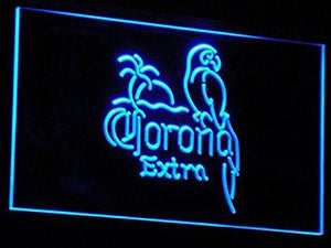 Corona Beer OPEN Bar Pub Club LED Neon Light Sign Man Cave A108-B