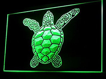 Sea Turtle Neon Sign (LED. Light)