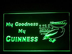 My Guinness My Goodness Neon Sign (Sport. Game. Bar. Hub. Advertising. LED. Light. J307G)