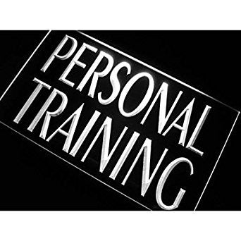 Personal Training Neon Sign (Gym. Light. Trainer. LED)