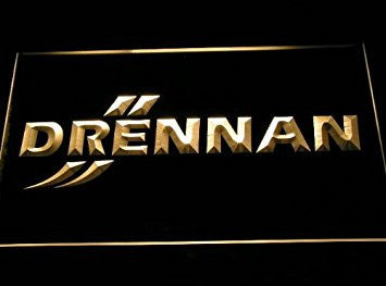 Drennan Fishing Neon Sign (D255-b. Light. Logo. LED)