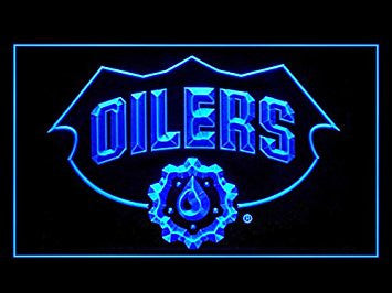Edmonton Oilers Neon Sign (Bar. Hockey. LED. Light)